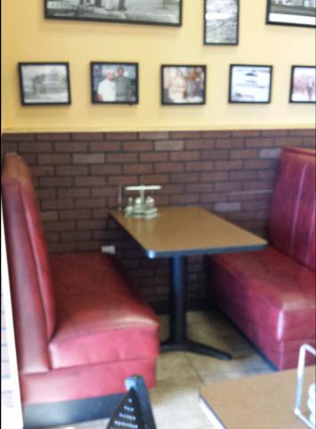 X Prong Cast Iron Restaurant Table Base - Cast iron restaurant table bases
